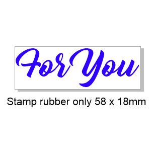 For You  58 x 18mm